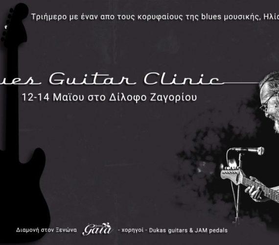 Blues Guitar Clinic στο Δίλοφο στα Ζαγόρια!!