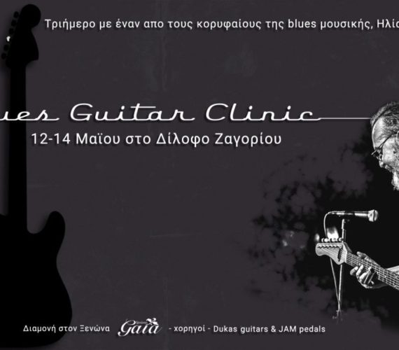 Blues Guitar Clinic in Dilofo, Zagoria by Gaia