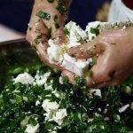 epirus green pie gaia guesthouse yiayia Eleni ingredients 29